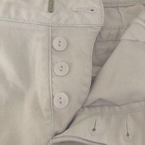 Sanctuary Shorts - Anthropologie Sanctuary Bermuda White Shor…
